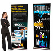 Trade Show Banners | Roll Up Banner Displays